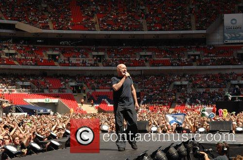 Live Earth London concert at Wembley Stadium