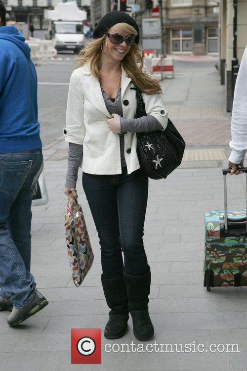 Liz McClarnon arrives at the Hard Days Night...