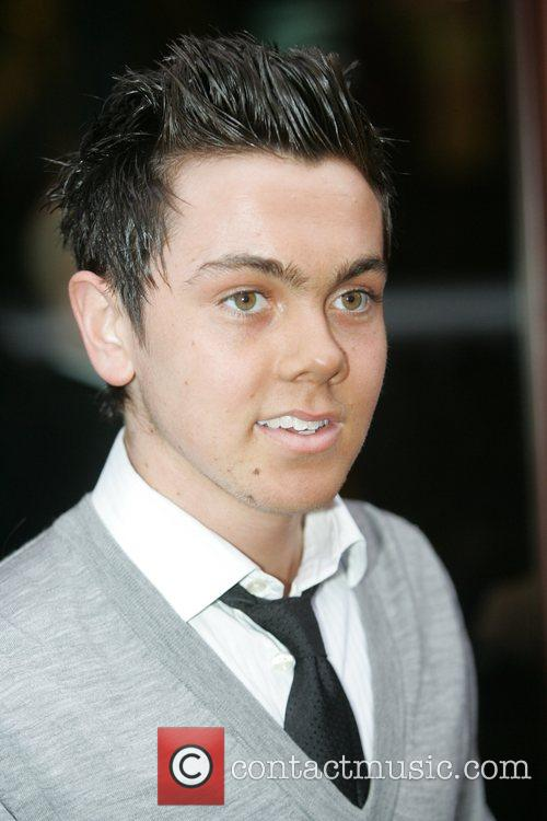 Ray Quinn arrives at the Hard Days Night...