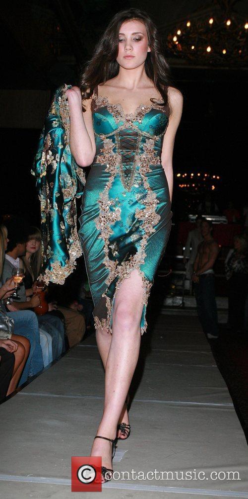 Model Liverpool Fashion Week - Closing Night -...