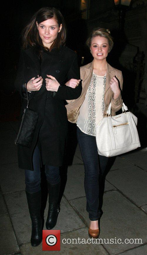 Sinead Moynihan and Emma Rigby Liverpool Fashion Week...