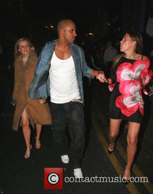 Carley Stenson, Ricky Whittle and guest Liverpool Fashion...