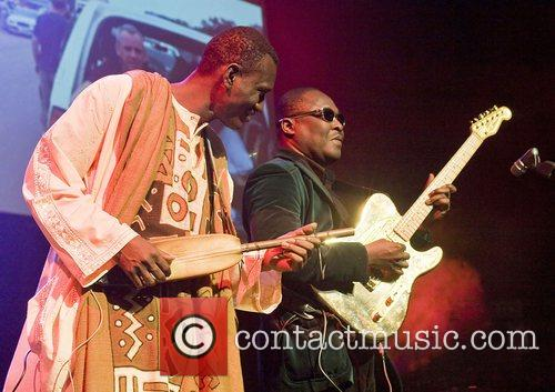 Africa Express  Preforming at Liverpool Olympia Liverpool,...