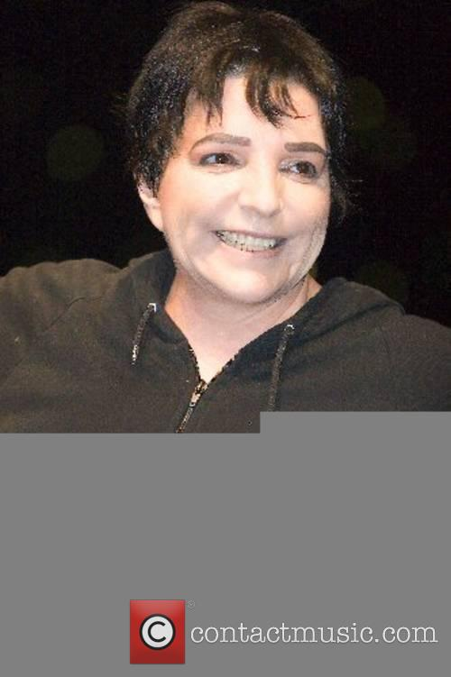Liza Minnelli at the final rehearsal for her...