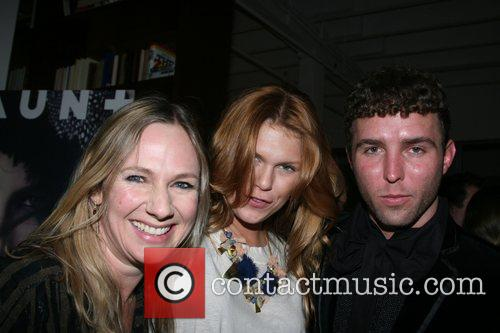 Sue Stemp, Alexandra Richards and Designer Timo Weiland