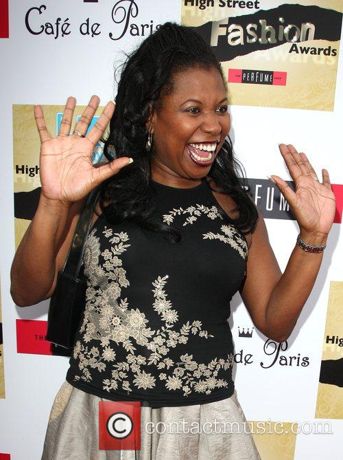 Brenda Edwards LK Today high street fashion awards...