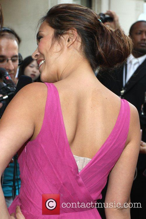 Myleene Klass showing her bra strap LK Today...