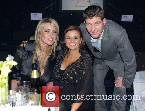 Alex Curran, Kerry Katona and Steven Gerrard At...