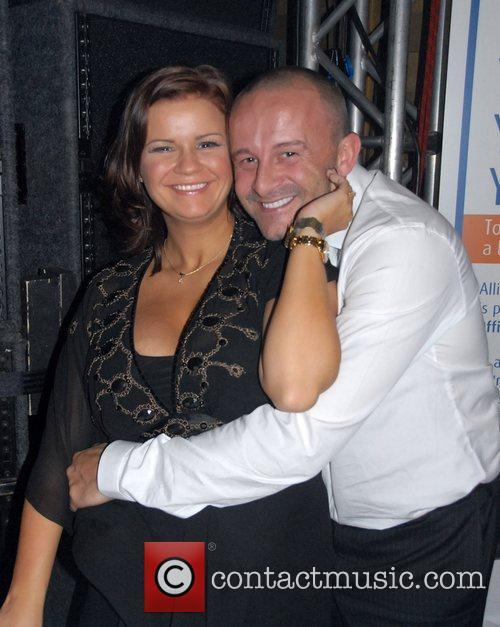 Kerry Katona and husband Mark Croft At the...