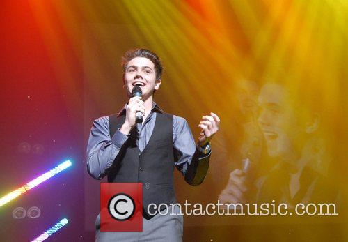 Ray Quinn performing At the Radio City Local...