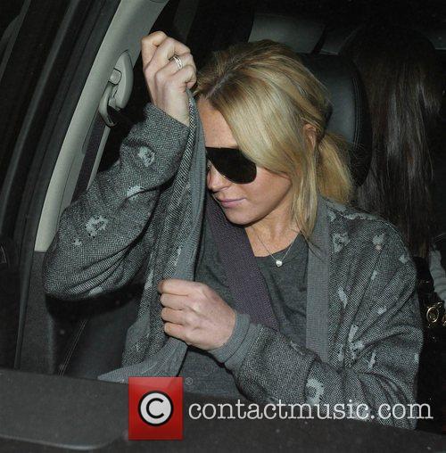 Lindsay Lohan goes to eat at Bossa Nova...