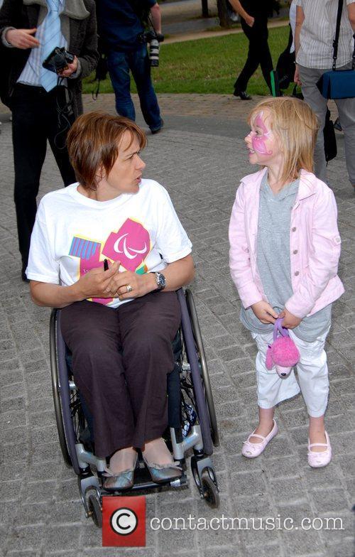 Dame Tanni Grey London 2012 Summer Roadshow...