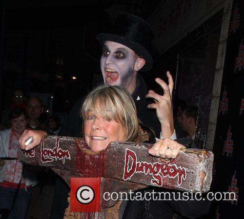 Linda Robson London Dungeons New Ride 'The Jack...