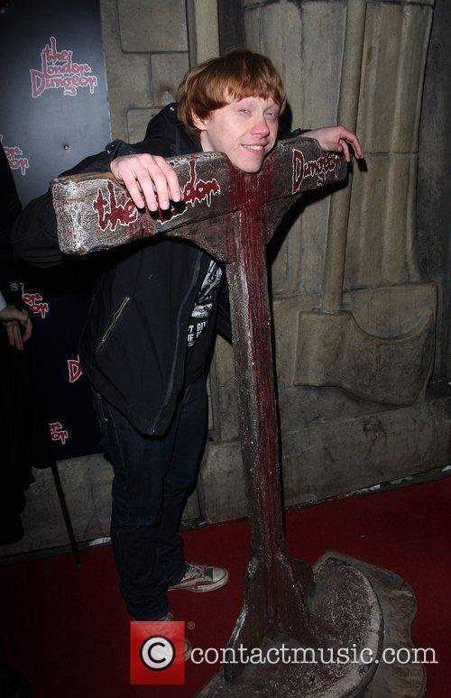 Rupert Grint London Dungeons New Ride 'The Jack...