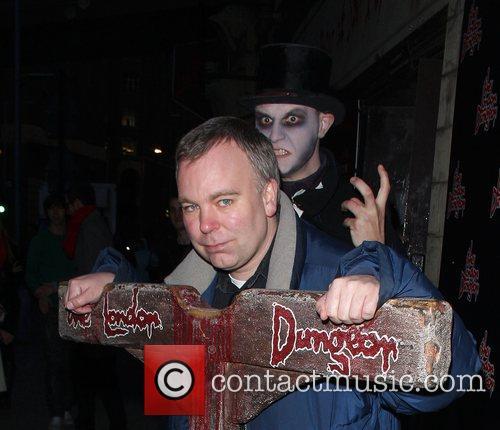 Steve Pemberton London Dungeons New Ride 'The Jack...