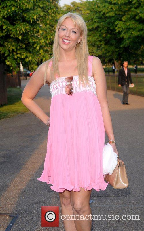The London Magazine party held at the Serpentine...
