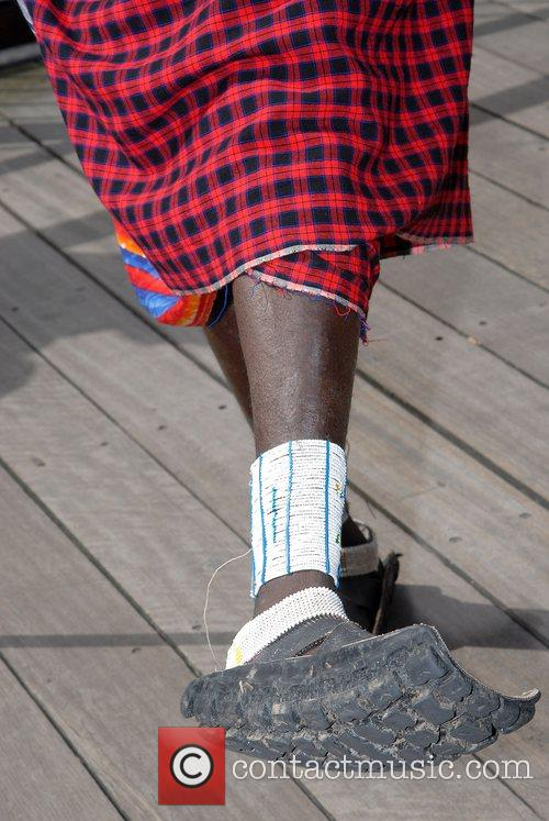 A member of the fastest group of Maasai...
