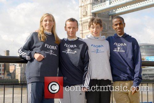 British Elite Runners Liz Yelling, Dan Robinson, Hayley...