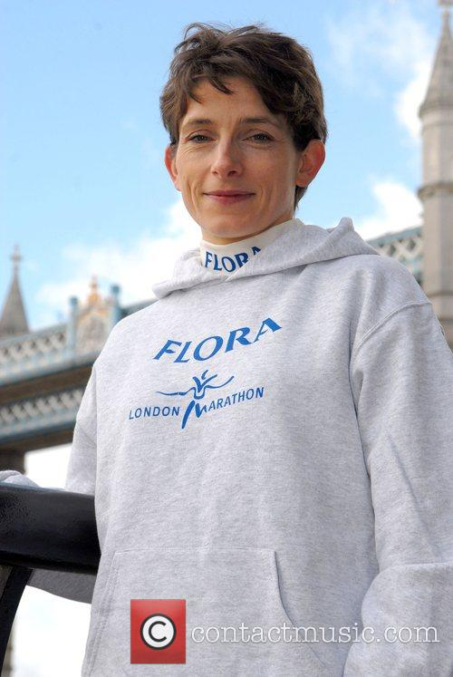 British Runner Hayley Haining London Marathon 2008 -...