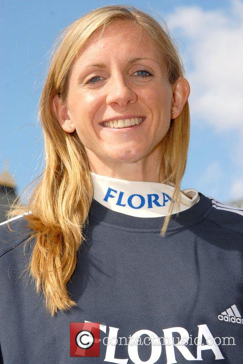 British Runner Liz Yelling London Marathon 2008 -...