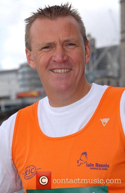 Former Premiership Referee Graham Poll London Marathon 2008...
