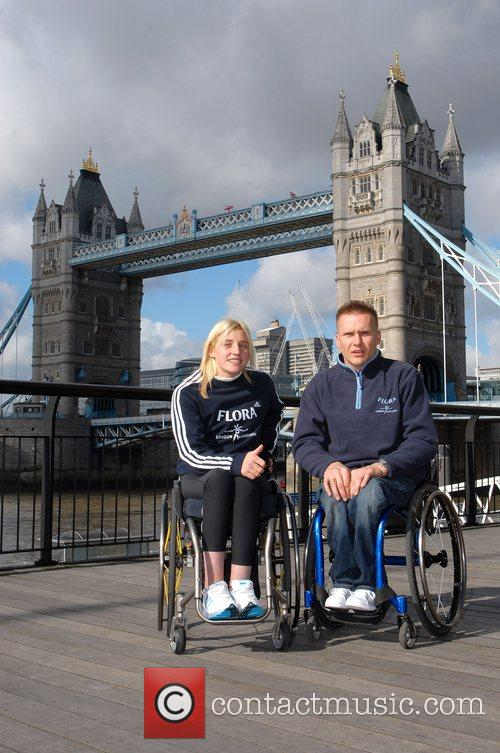 Last Years Winners Shelly Woods and David Weir...