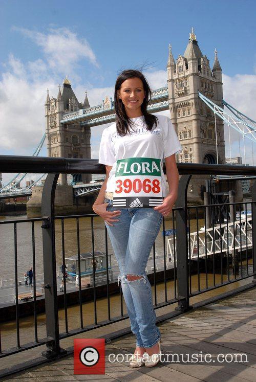 Melanie Boorman London Marathon 2008 - Photocall...