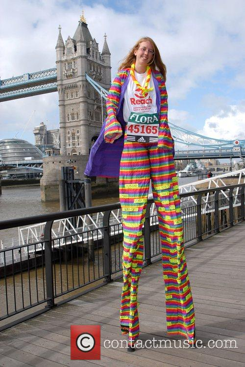 Michelle Frost London Marathon 2008 - Photocall...