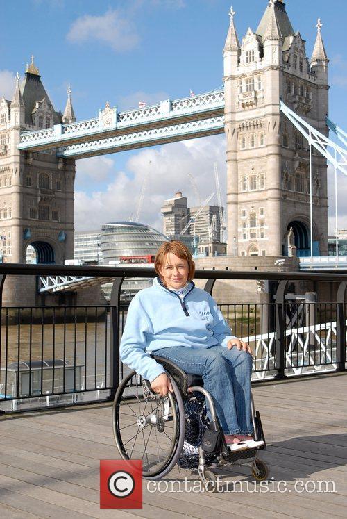Tanni Gray Thompson London Marathon 2008 - Photocall...