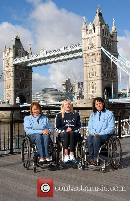 Tanni Gray Thompson, Shelly Woods (GBR) and Sandra...