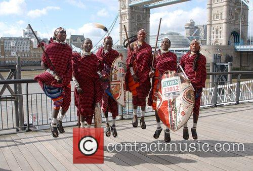 The fastest group of Maasai Warriors to complete...