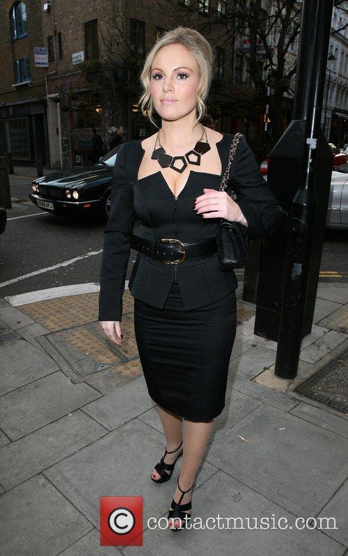 Michelle Dewberry Launch night of London Restaurant Week,...