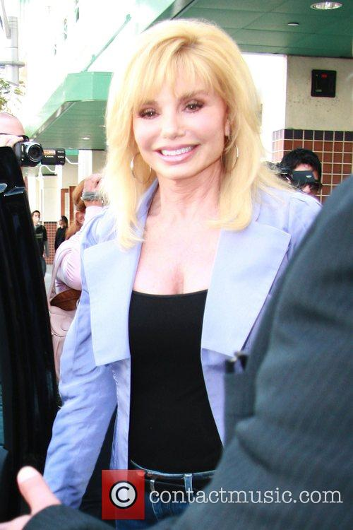 Loni Anderson leaving a hardware store in Beverly...