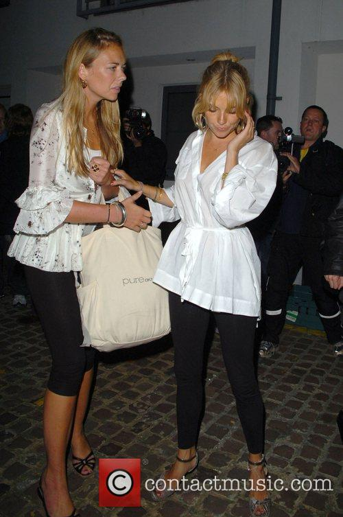 Leaving the Lonsdale Bar in Notting Hill