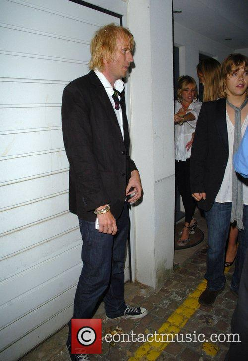 Sienna Miller and Rhys Ifans leaving the Lonsdale...