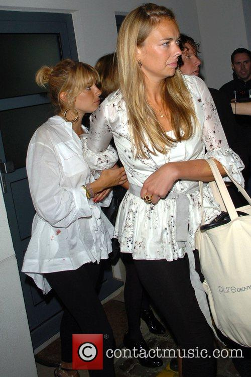 Sienna Miller and Savannah Miller leaving the Lonsdale...