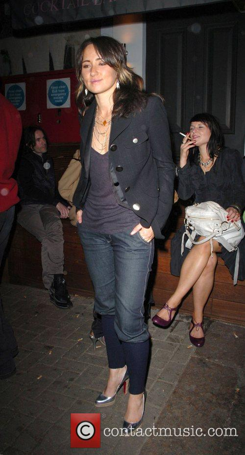 KT Tunstall leaving the Lonsdale Bar in Notting...