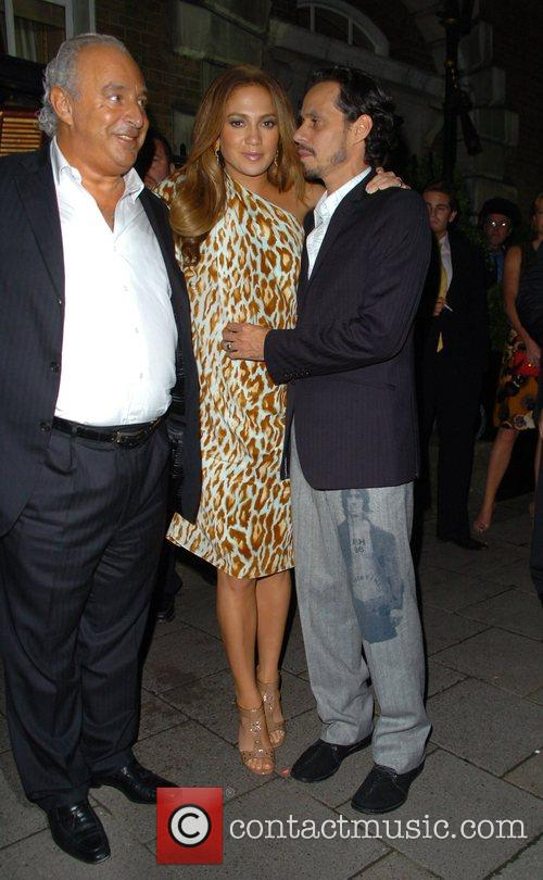 Phillip Green Jennifer Lopez and Marc Anthony,...