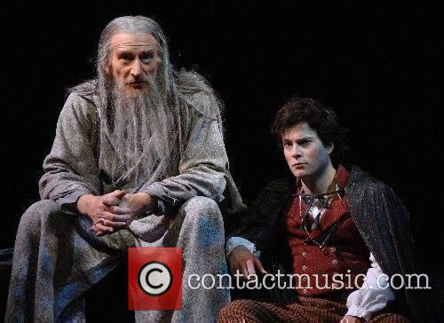 Malcolm Storry as Gandalf and James Joye as...