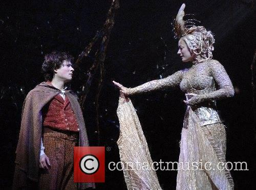Laura Michelle Kelly as Galadriel and James Loye...
