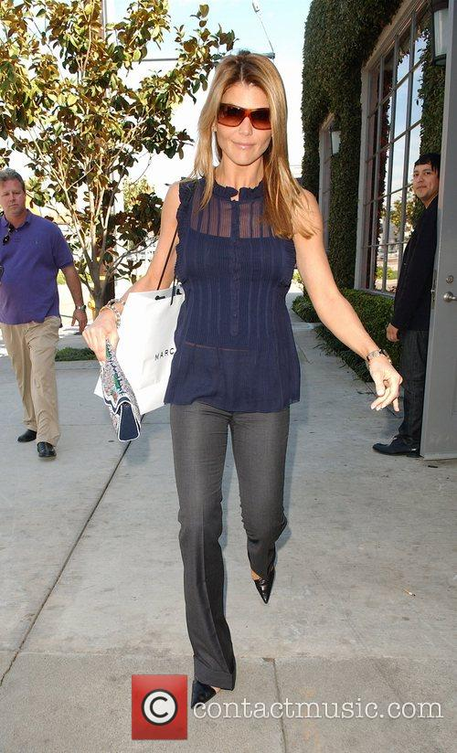 Lori Loughlin shopping at Marc Jacobs on Melrose...