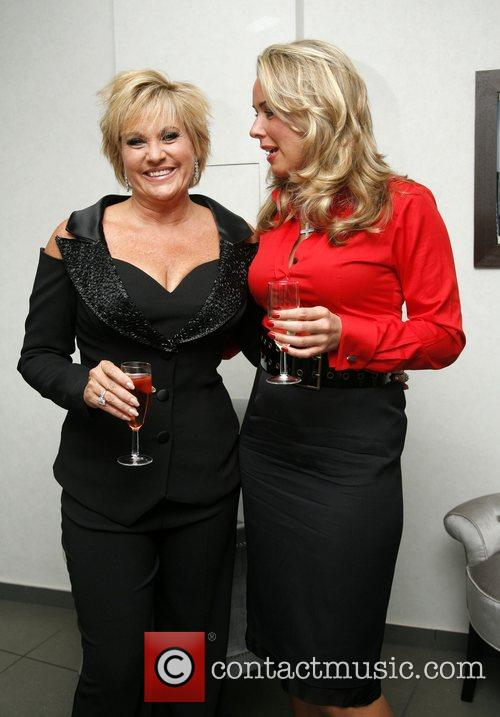 Lorna Luft and Claire Sweeney Lorna Luft at...