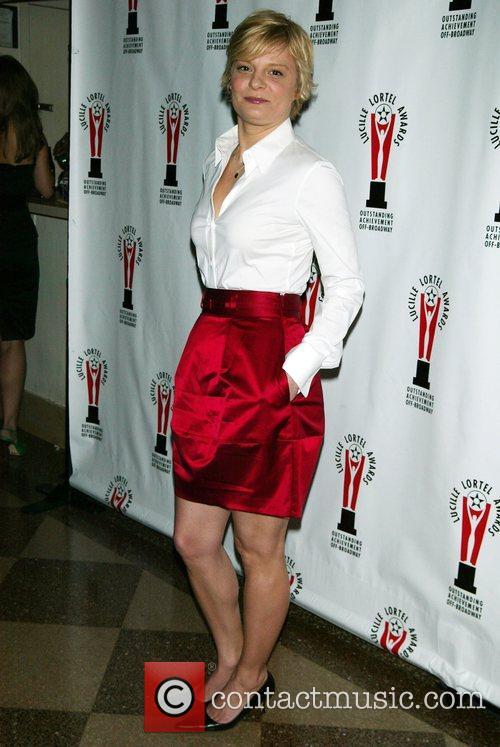 Martha Plimpton The 23rd Annual Lucille Lortel Off-Broadway...