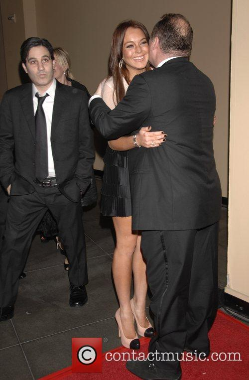 Lindsay Lohan and Guest The 3rd Annual Los...