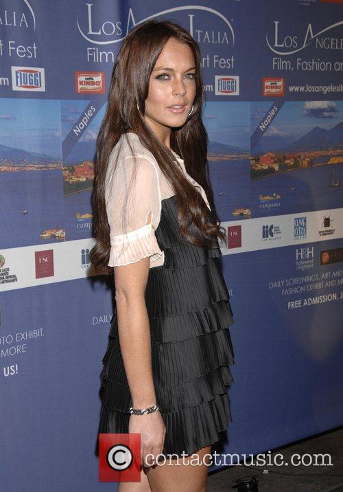 Lindsay Lohan The 3rd Annual Los Angeles Italia...