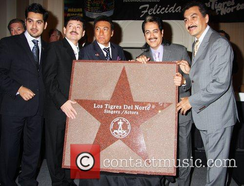 Honored with a star by the 'Las Vegas...