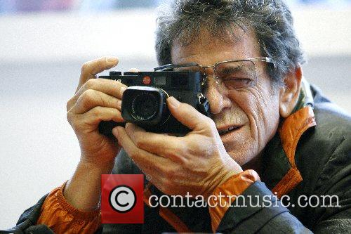 Lou Reed, Rock Singer and Photographer Lou Reed Open His Photo Exhibition Entitled ' Lou Reed's New York ' 1