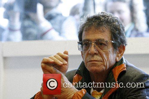 Musician, rock singer and photographer Lou Reed open...