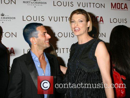 Marc Jacobs & Linda Evangelista Murakami Exhibition at...
