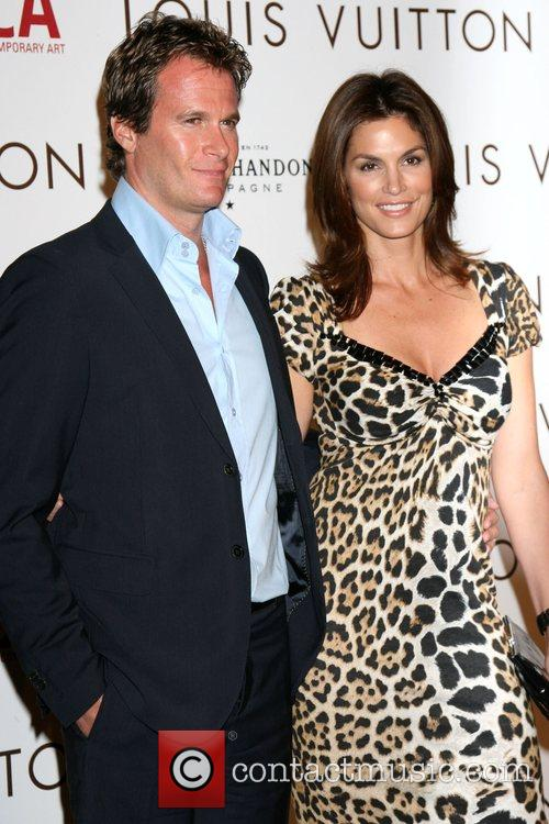 Rande Gerber & Cindy Crawford Murakami Exhibition at...